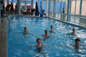 Группа студентов на практическом занятии. Февраль 2008.