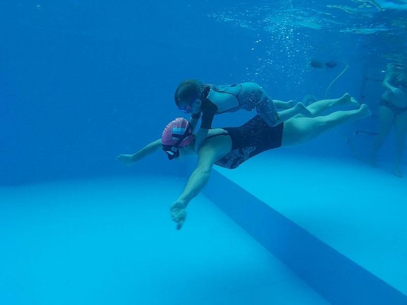 занятия по грудничковому и детскому плаванию