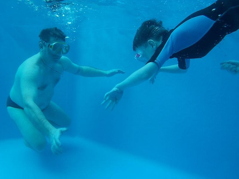 гидрореабилитация и детское плавание
