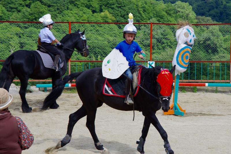 """Конно-спортивный лагерь """"Рыцари нашего времени"""""""